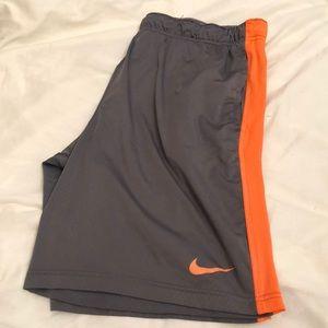 Nike dri-fit large Athletic shorts
